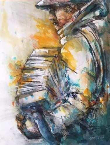 accordeonist